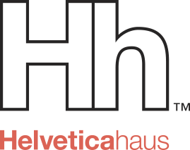 Helveticahaus – Helvetica inspired T-shirts by designers Retina Logo